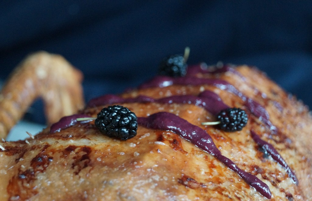 Mulberry Sauce for Goose