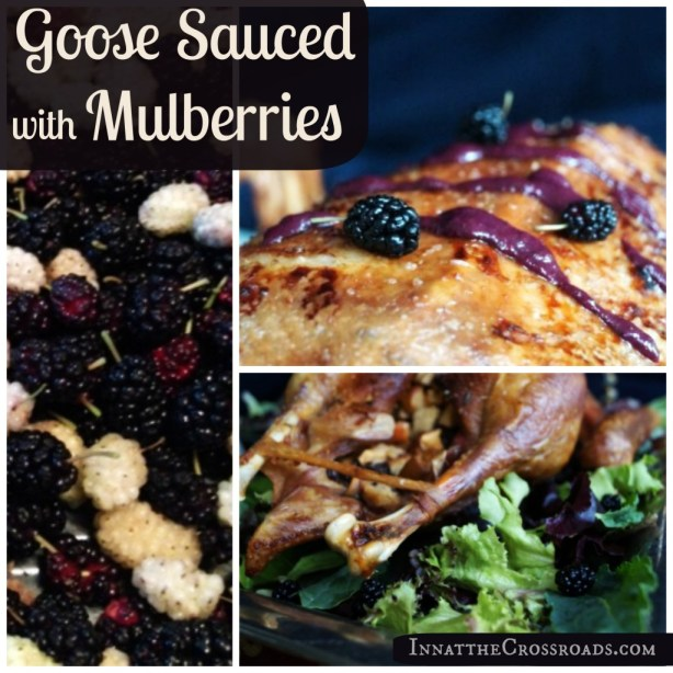 Goose with Mulberry Sauce, from Inn at the Crossroads
