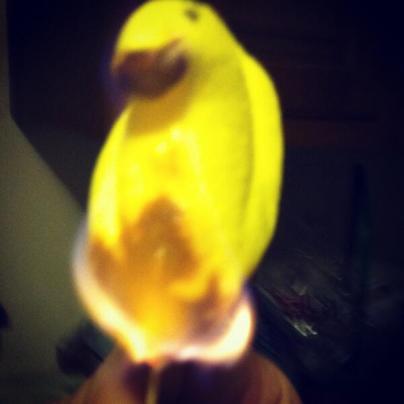 Burning Peep Florent
