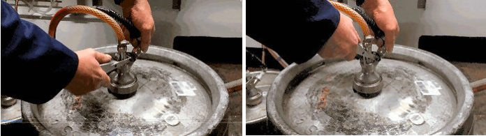How to change a Molson Coors keg 1