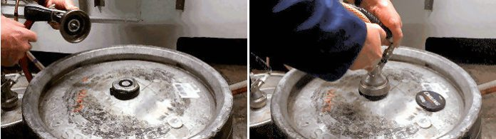 How to change a Molson Coors keg 3