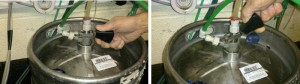 How to change a keg 2