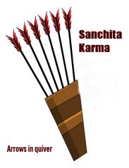 Sanchita karma arrow in quiver