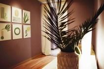 Artwork at the spa