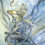 King of Cups from the Shadowscapes Tarot by Stephanie Pui-Mun Law
