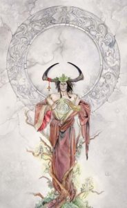 The Emperor from The Shadowscapes Tarot by Stephanie Pui-Mun Law