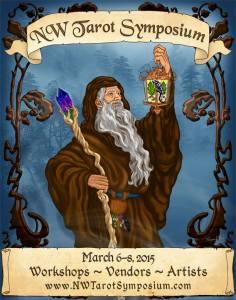 2015 NW Tarot Symposium Flyer