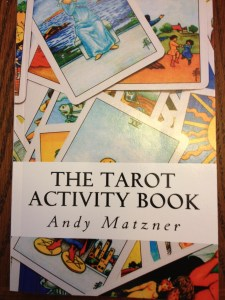 Cover of the Tarot Activity Book by Andy Matzner
