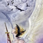 9 of Swords from The Shadowscapes Tarot by Stephanie Pui-Mun Law