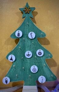 December 8, 2020 Advent Calendar Draw: The Hanged Man. Click to embiggen