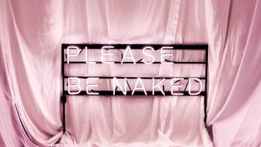 please be naked