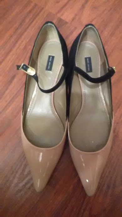 2e157d926fdb Marc Jacobs Patent Leather 2-tone black tan Mary Jane Shoes