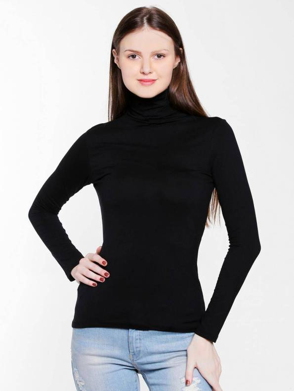 Ladies High Neck Front Side Tops