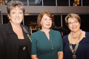 Dr Alla Dolnikov with PP Kay Morland & President Marilyn Armstrong