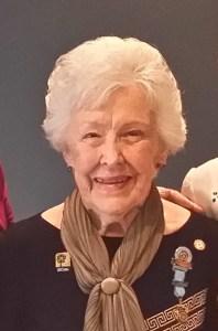 Margarette Golding Award recipient Nona Dart, IWC Bathurst
