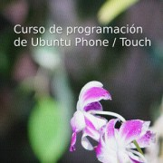 Logo del curso de programación de Ubuntu Touch