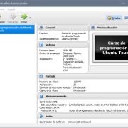 Configuración de VirtualBox