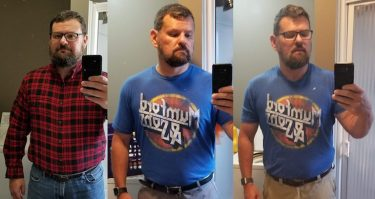 the up and downs of weight management over a year and half period