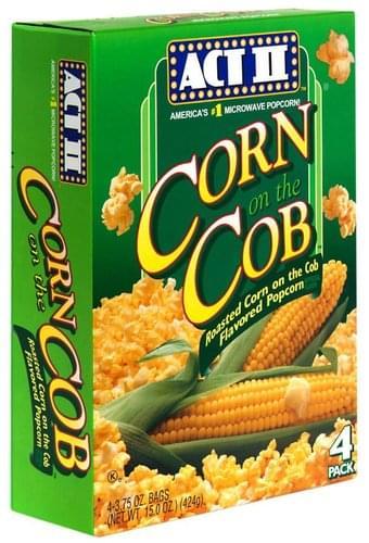 act ii corn on the cob microwave