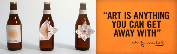 cerveza Origami - ejemplo de division