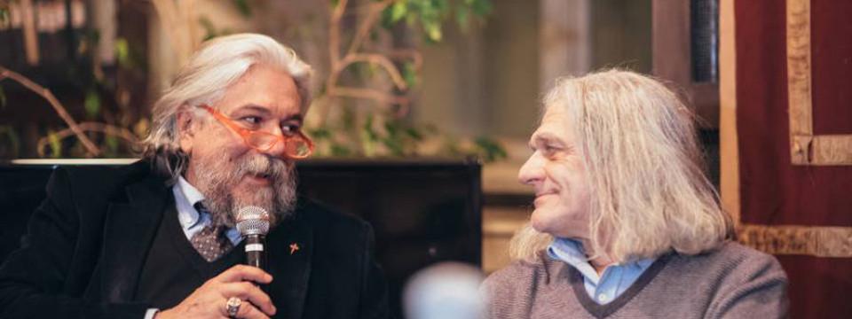 Il-Prof.-Alessandro-Meluzzi-con-ol-Poeta-Innocente-Foglio-al-circolo-degli-artisti-di-Torino - slide