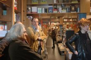 Innocente Foglio Torino libreria La Torre di Abele con Antonella Gatti Bardelli ed il Pittore Alberto Bongini