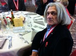 Innocente Foglio al ricevimento Compagnie de Savoie a Grenoble