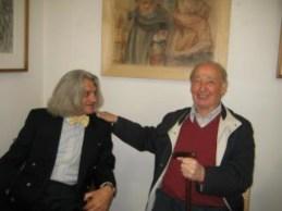 Innocente Foglio con il Maestro Antonio Stagnoli