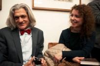 Innocente Foglio con la poetessa Ylenia Bagatto