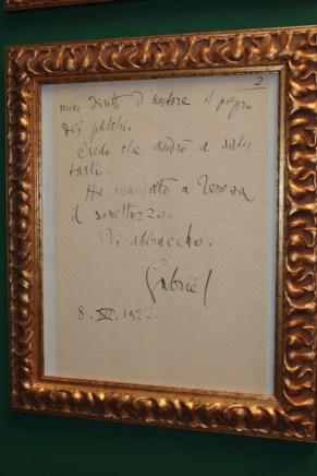 Altro Manoscritto di D'Annunzio