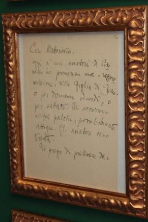 Manoscritto di D'Annunzio