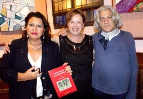 Maria Grazia Sangregorio pittrice e Maria Teresa Prestigiacomo critica d'arte e giornalista