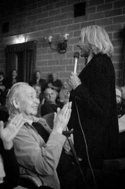 Applauso del maestro Stagnoli al poeta Innocente Foglio