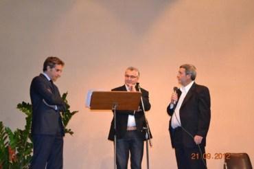 Presentazione libro con L'Assessore Michele Coppola, Assessore Pio Caon e Mario Moschietto