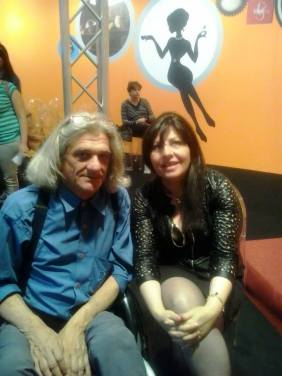 Innocente Foglio con Anna Maria Barbera al Salone del Libro di Torino