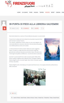 Firenzefuori - in puntadi piedi alla libreria salvemini
