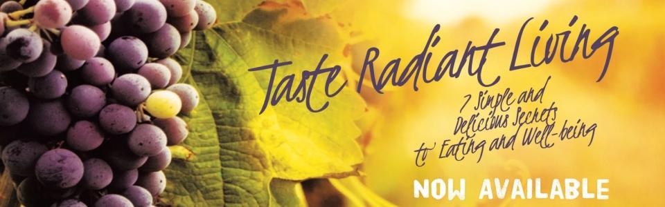 taste radiant living book release