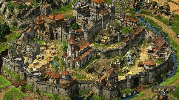 Tribal Wars 2 das mittelalterliche Online Strategiespiel