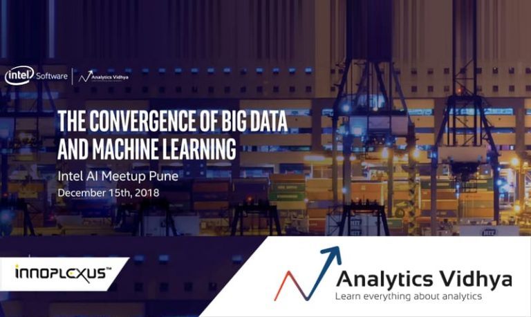The Convergence of BIG DATA and Machine Learning Pune Meetup