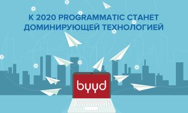 К 2020 programmatic станет доминирующей технологией