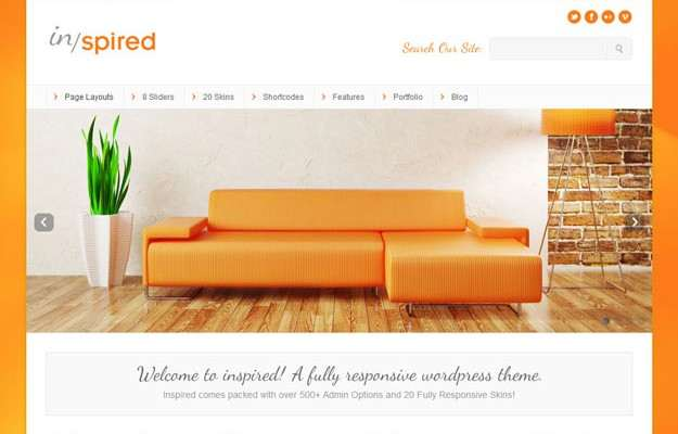 Top 10 Business WordPress-Themes – August 2014