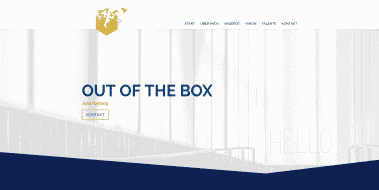 Neue Webseite: Julia Hartwig   Out of the Box