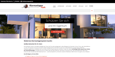 Relaunch: Online-Shop Alarmanlagenpark