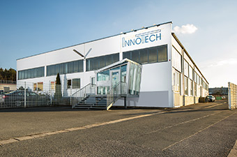 Firmengebäude des Sondermaschinenbauers InnoTech