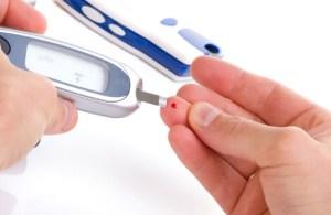 diabetes finger stick
