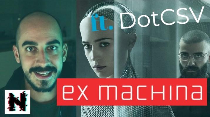 ¿Pueden pensar las máquinas? Inteligencia Artificial y  Ex Machina con @Dot CSV  - Novum s01e04