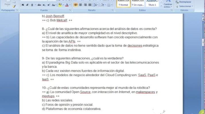 Transformación Digital Para El Empleo - Examen Final. Google Actívate