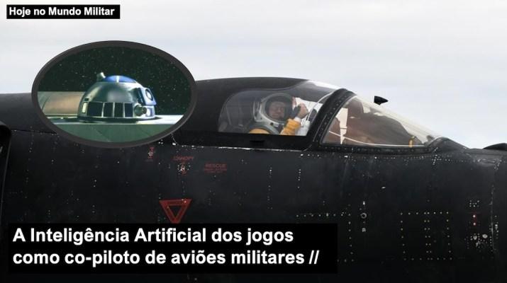 A Inteligência Artificial dos jogos como co-piloto de aviões militares