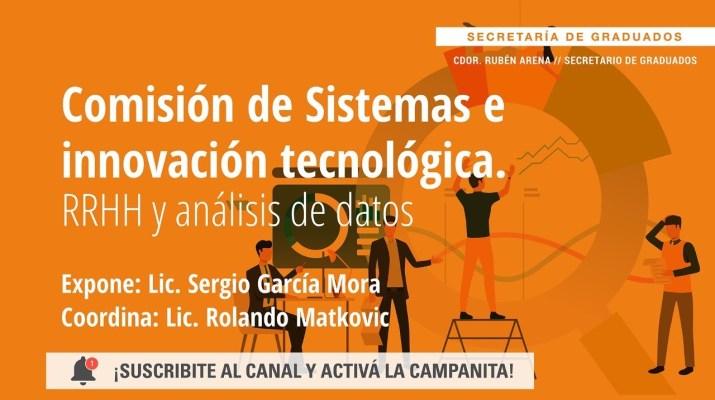 Comisión de Sistemas e Innovación Tecnológica. RRHH y análisis de datos