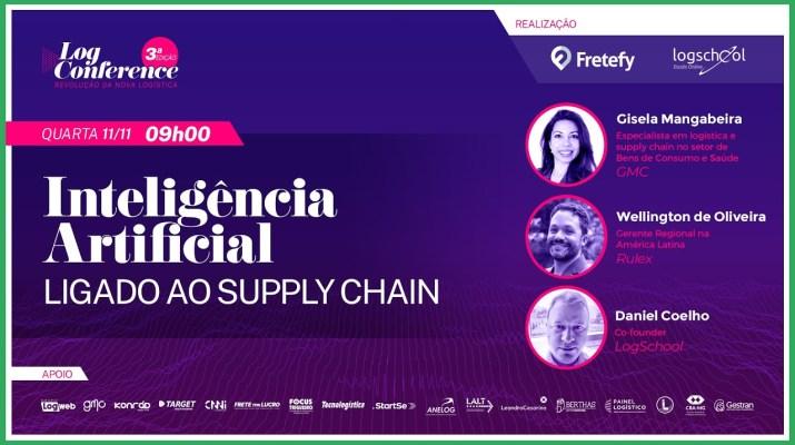 Inteligência Artificial ligado ao Supply Chain - LogConference 3ª Edição